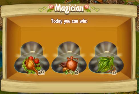 Golden Frontier Magician Reward
