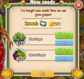 Golden Frontier New Seeds Quest