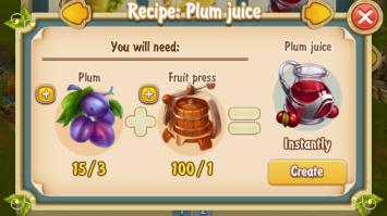 Golden Frontier Plum Juice Recipe