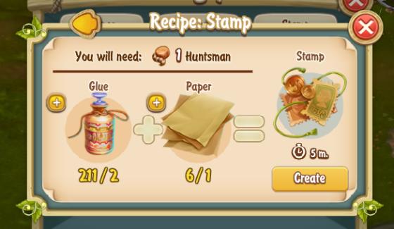 Golden Frontier Stamp Recipe