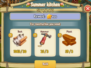 Golden Frontier Summer Kitchen Stage 2
