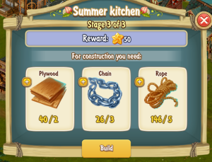 Golden Frontier Summer Kitchen Stage 3