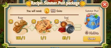 Golden Frontier Summer Post Package