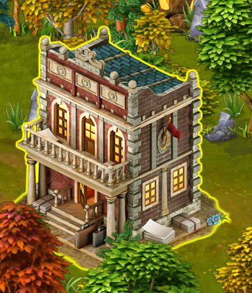 Golden Frontier Unreleased Town Hall
