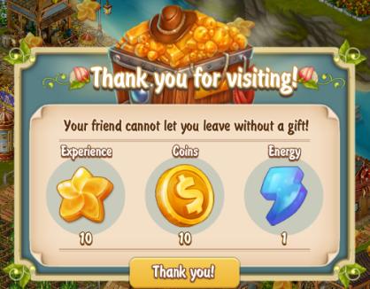 Golden Frontier Visiting Friends