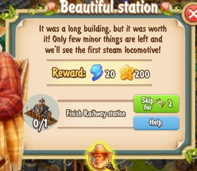 Golden Frontier Beautiful Station Quest