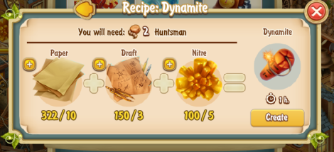 Golden Frontier Dynamite Recipe