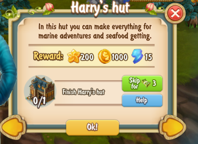Golden Frontier Harry's Hut Quest