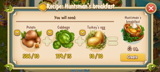 Golden Frontier Huntsmen's Breakfast Recipe