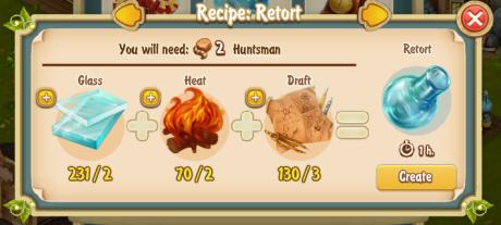 Golden Frontier Retort Recipe