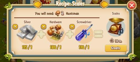 Golden Frontier Scales Recipe