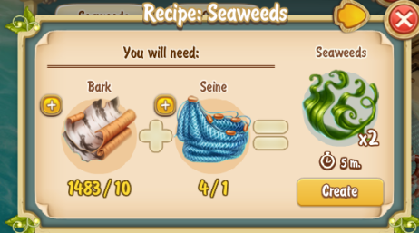 Golden Frontier Seaweeds Recipe