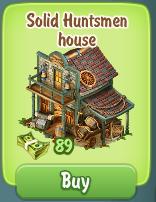 Golden Frontier Solid Gold Huntsmen House Cost