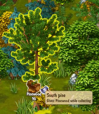 Golden Frontier South Pine Tree