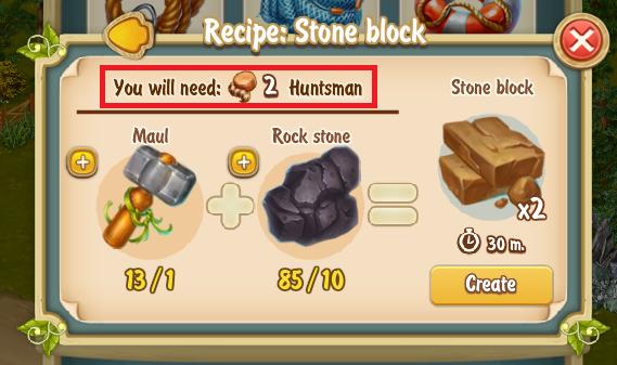 Golden Frontier Stone Block Recipe