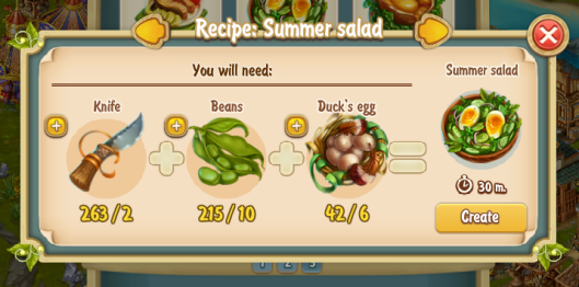 Golden Frontier Summer Salad Recipe