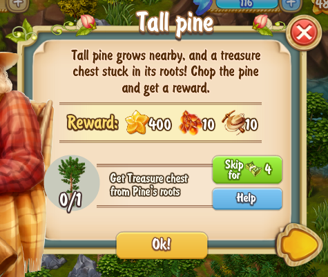 Golden Frontier Tall Pine Quest