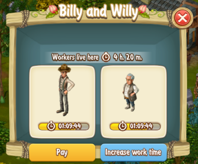 Paying Billy and Willy