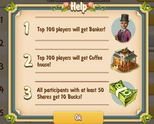 Golden Frontier Top 100 Rewards