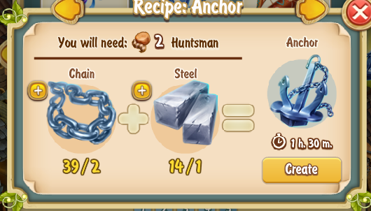 Golden Frontier Anchor Recipe