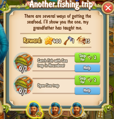 Golden Frontier Another Fishing Trip Quest