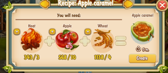 Golden Frontier Apple Caramel Recipe
