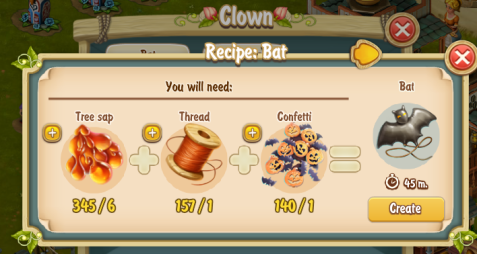 Golden Frontier Bat Recipe