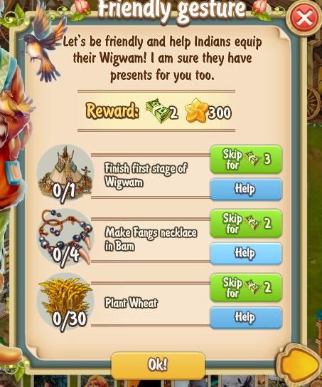Golden Frontier Friendly Gesture Quest
