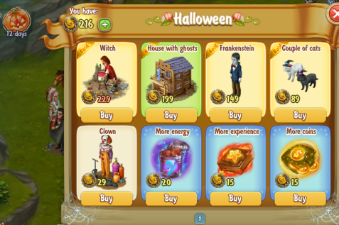 Golden Frontier Halloween Exchange