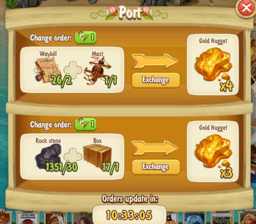 Golden Frontier Port Gold