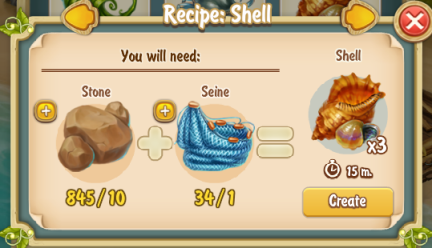 Golden Frontier Shell Recipe