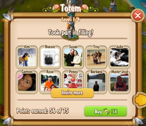 Golden Frontier Totem Level 1