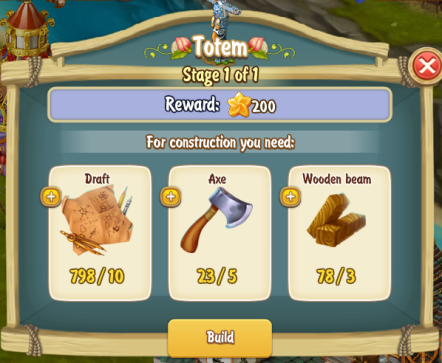 Golden Frontier Totem Stage 1