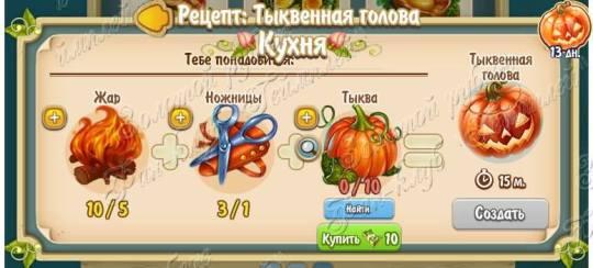 Pumpkin Head (Kitchen)