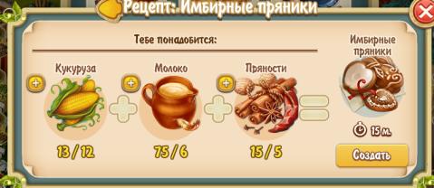 Gingerbread (kitchen)