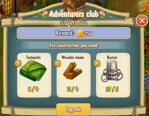 Golden Frontier Adventurers Club Stage 3