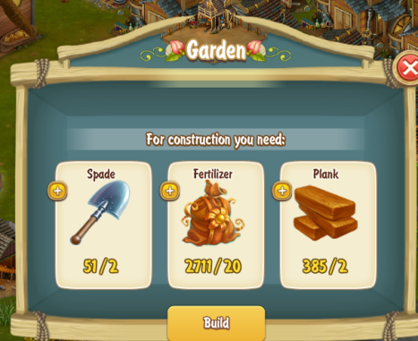 Golden Frontier Garden Stage 1