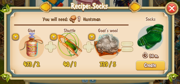 Golden Frontier Socks Recipe