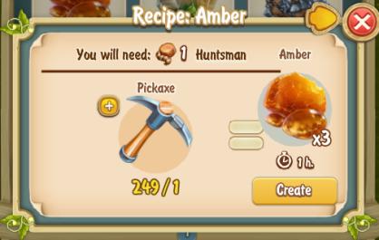 Golden Frontier Amber Recipe
