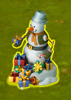 Golden Frontier Cook Snowman