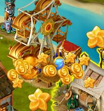 Golden Frontier Ferris Wheel Ticket rewards