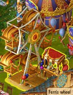 Golden Frontier Ferris Wheel Visits