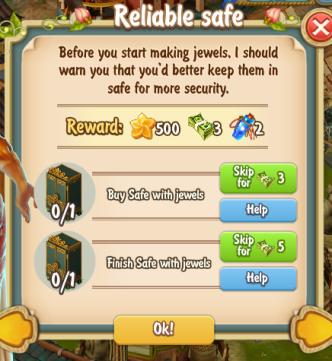 Golden Frontier Reliable Safe Quest