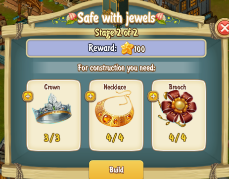Golden Frontier Safe With Jewels Stage 2