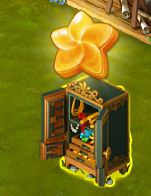 Golden Frontier Safe With Jewels