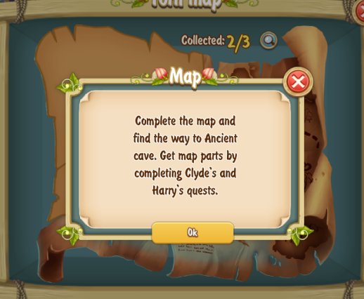 Torn Map