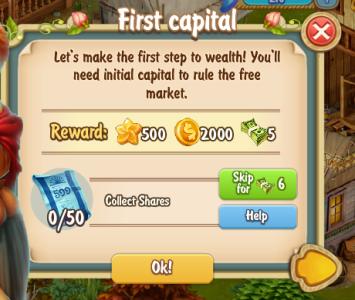 Golden Frontier First Capital Quest