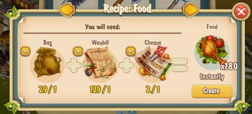 Golden Frontier Food x180 Recipe