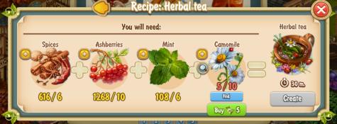 Golden Frontier Herbal Tea Recipe New time