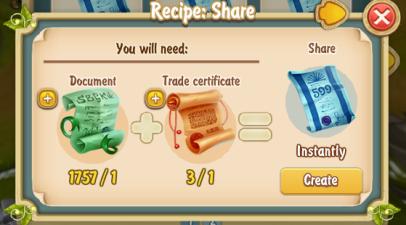 Golden Frontier Share Recipe